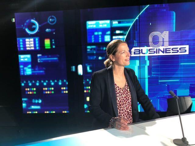Caroline Villecroze sur le plateau de BFM - Directrice chez Leyton, en lien avec l